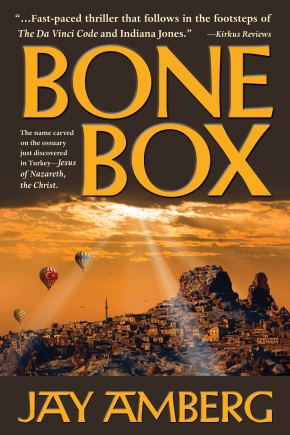 Bone Box, by Jay Amberg, new cover